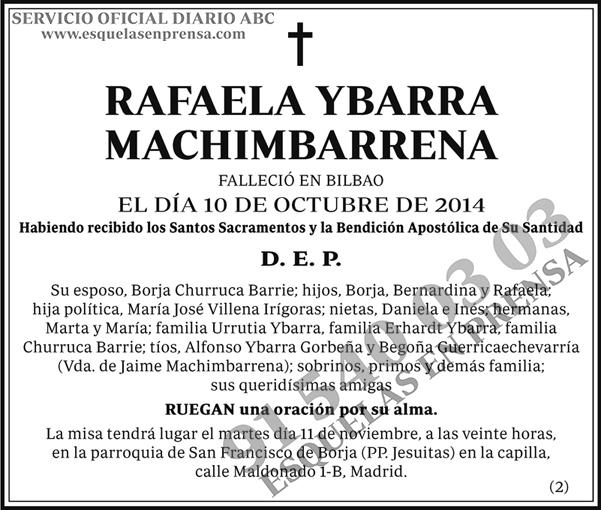 Rafaela Ybarra Machimbarrena